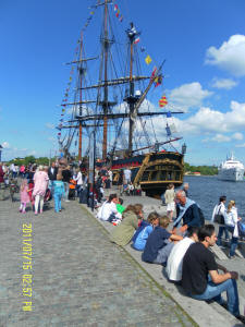 HMS Bounty, visit to Stockholm, 2011, picture 2